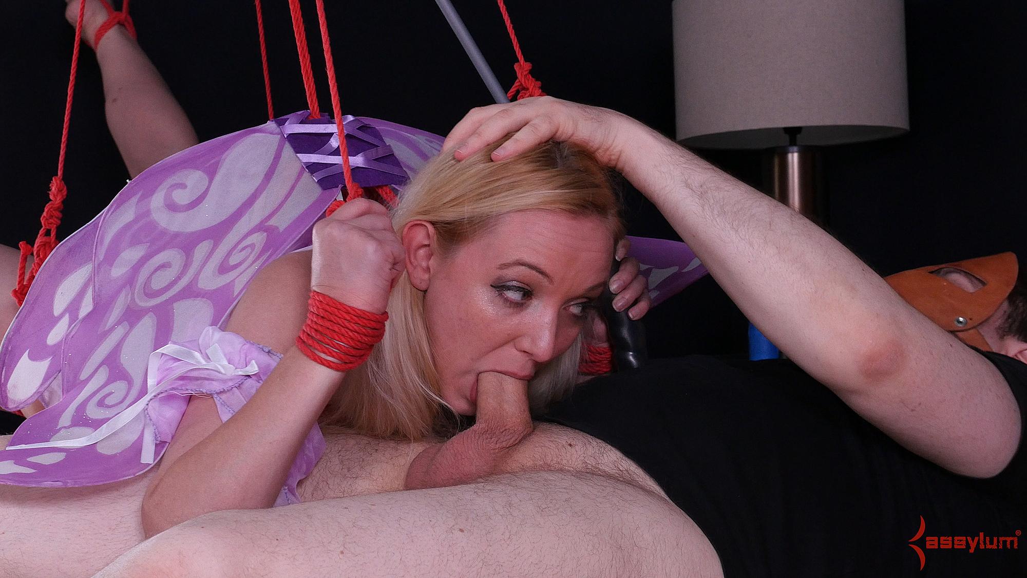 Anneliese snow submissive anal bondage part 1 - 2 part 3